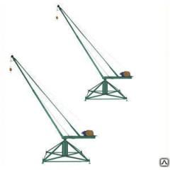 Кран Пионер 500кг стреловый поворотный КСП-500
