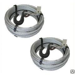 Канат 16,5 мм (160 м) для лебедки с Кч -3.0 т. 320А опрессовка