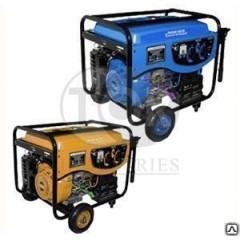 Генератор бензиновый 5кВт синхронный TOR (COP) 220В, бак 25л, эл. стартер