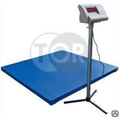 Весы платформенные 1000 кг электронные напольные TOR PS-1000