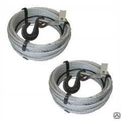 Канат 9,1 мм (120 м) для лебедки с Кч -1.0 т. 320А опрессовка