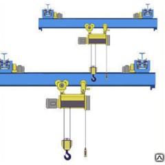 Кран опорный мостовой г/п 1,0т пролет 15,0м