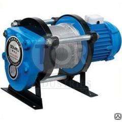 Лебедка тяговая г/п 1,0т электрическая  380В TOR CD-1000-A с канатом 100м