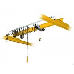 Кран г/п 1,0т мостовой однобалочный опорный однопролётный пролет 16,5 м