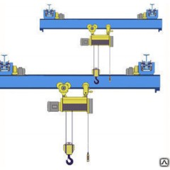 Кран опорный мостовой г/п 3,2т пролет 9,0м