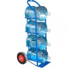 Тележка грузовая ТГ для бутылей с водой