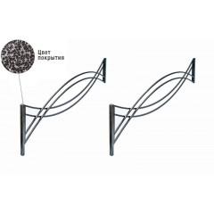 Удлинение ограды ритуальной оцинкованной Тип 1