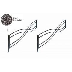 Удлинение ограды ритуальной оцинкованной Тип 2